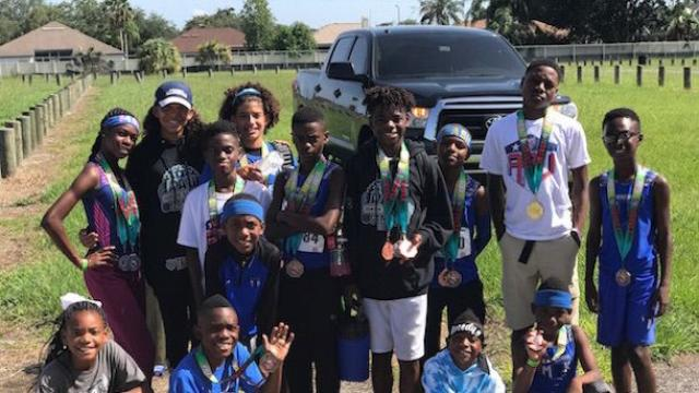 My Brother's Keeper (FL) track team