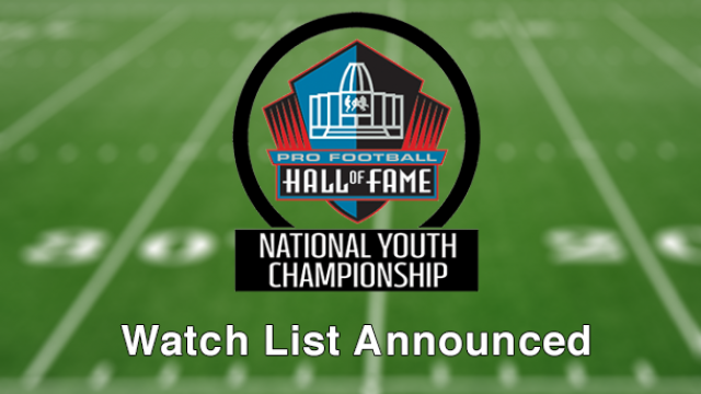 National Youth Football Championship Watch List Announced