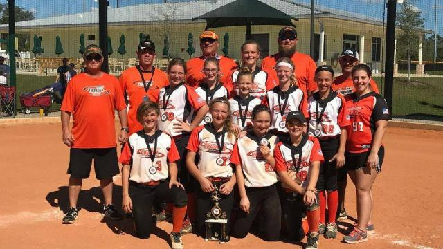 Orange City Thunder 12U takes 1st at March Madness at the Beach
