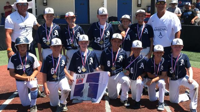 Jackson Smallets walks it off as Arsenal edges Super 11U, 12-11, in YWS