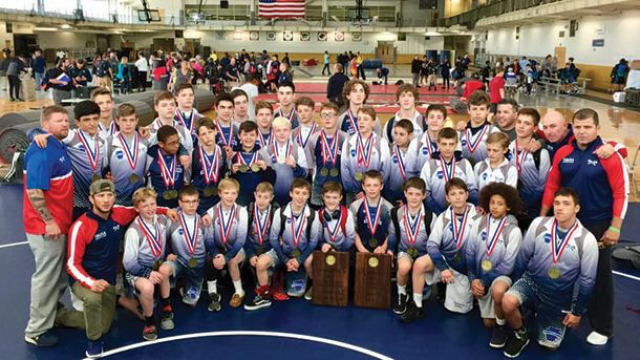 2019, usa, wrestling, freestyle, national duals, pennsylvania blue, national dual champions, pa blue, youth, wrestling, usaw