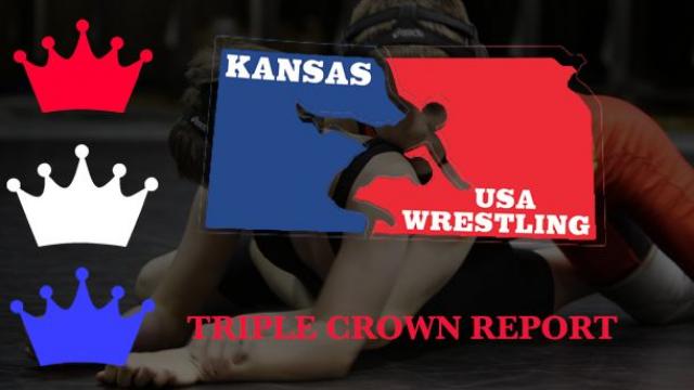 kansas, usa, wrestling, triple, crown, report, 2019, schoolboy, state, championships