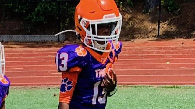 2028's Joshua Burke brings blazing speed and physical prowess to the field