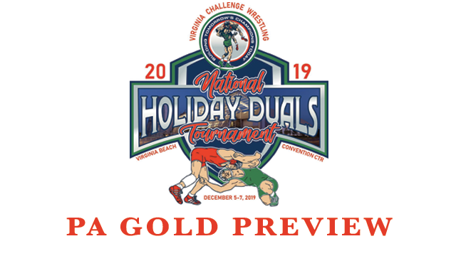 PA Gold, 2019, VAC, Holiday, Duals, Preview, Youth Wrestling