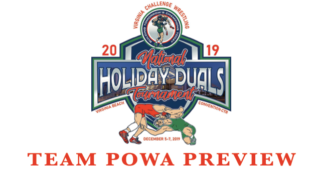 2019, VAC, HOLIDAY, DUALS, Preview, POWA