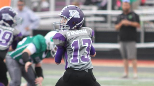 2027 QB Joe D'Ambrosia III is one of Ohio's rising young talents