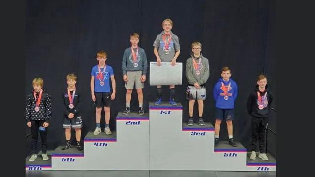 Wrestlers Claim 2020 Iowa AAU State Gold