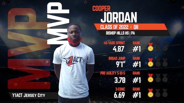 2022 QB Cooper Jordan named MVP at Youth1's Camp & Combine
