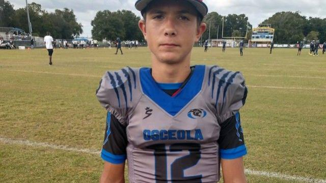 2026's Sabby Meassick is one of Central Florida's emerging quarterbacks