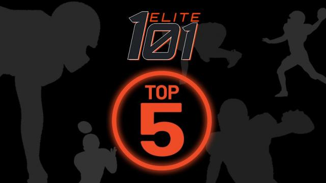 5 eye-popping athletes on both sides of the ball from our Elite101 Rankings