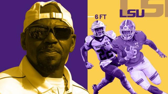 lsu kevin faulk running back recruits