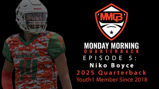 Monday Morning Quarterback: Episode 5 featuring 2025 QB Niko Boyce