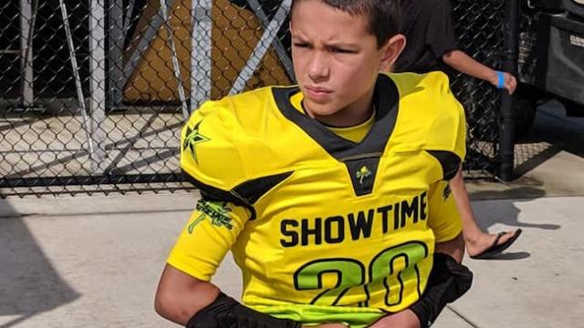 2028's Andrew Herman brings fire and intensity on both ends of the gridiron