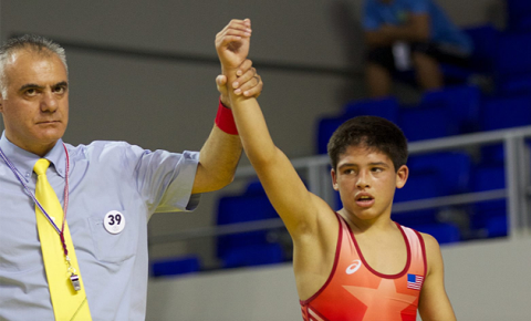 Cade olivas named to youth olympic games team youth1
