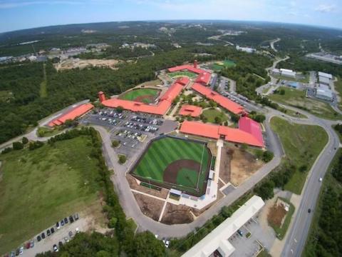 Ballparks of America 10U-13U Youth Baseball Tournaments Branson Missouri