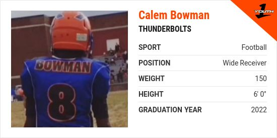 calem bowman from millville NJ | Youth1